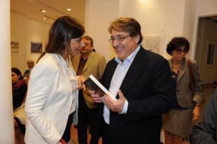 Raffaella Chiariello e Roberto Napoletano