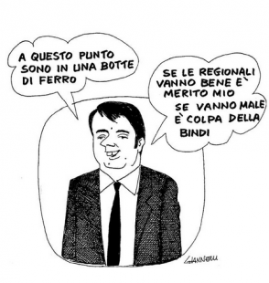 renzi by Giannelli