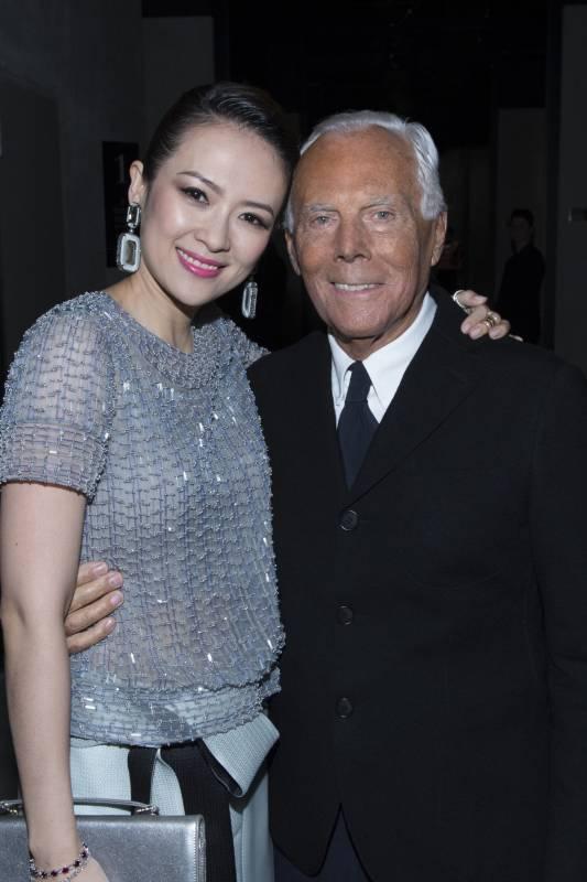 Zhang ziyi e giorgio armani dago fotogallery for Giorgio armani architetto