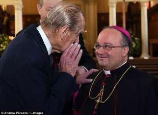 il principe filippo e l arcivescovo di malta