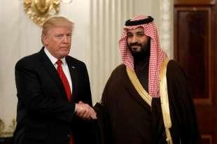 mohammed bin salman al saud con donald trump