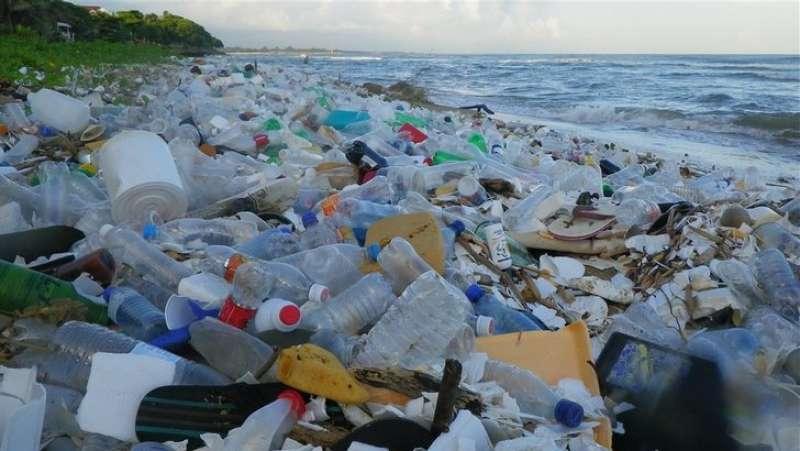 Risultati immagini per bottiglie plastica inquinamento