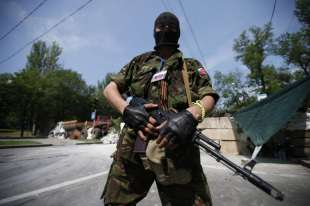 mercenario russo nel donbass, ucraina