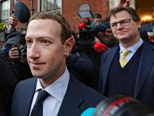mark zuckerberg nick clegg