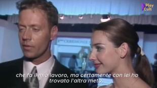 rocco siffredi e la moglie rosza video compilation anni '90 by tgcom 3