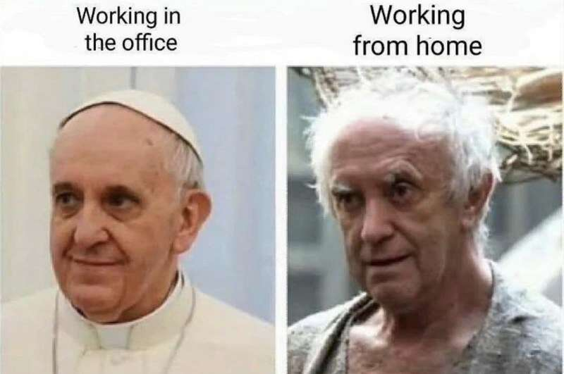 SMART WORKING MEME