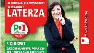 alessandra laterza candidata pd