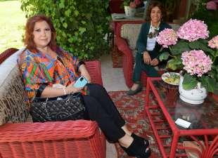 anna la rosa con l ambasciatrice della colombia gloria isabel ramirez foto di bacco