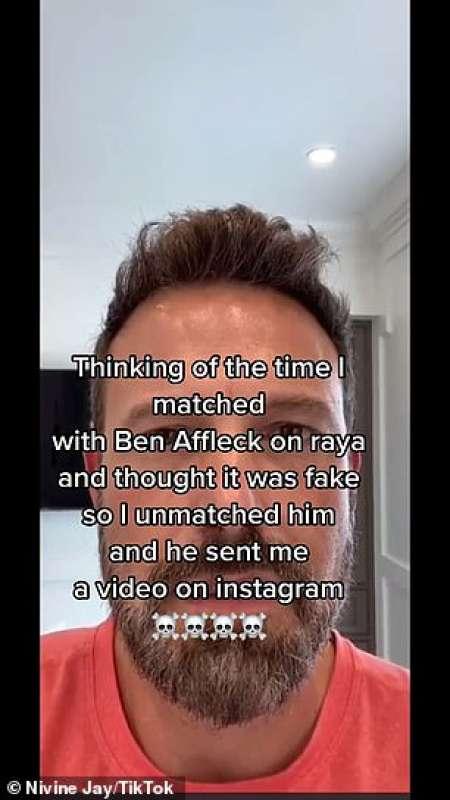 BEN AFFLECK VIDEO INSTAGRAM