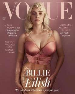 Billie Eilish su Vogue