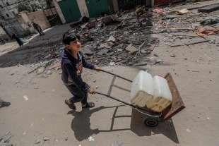 campo profughi a ovest di gaza