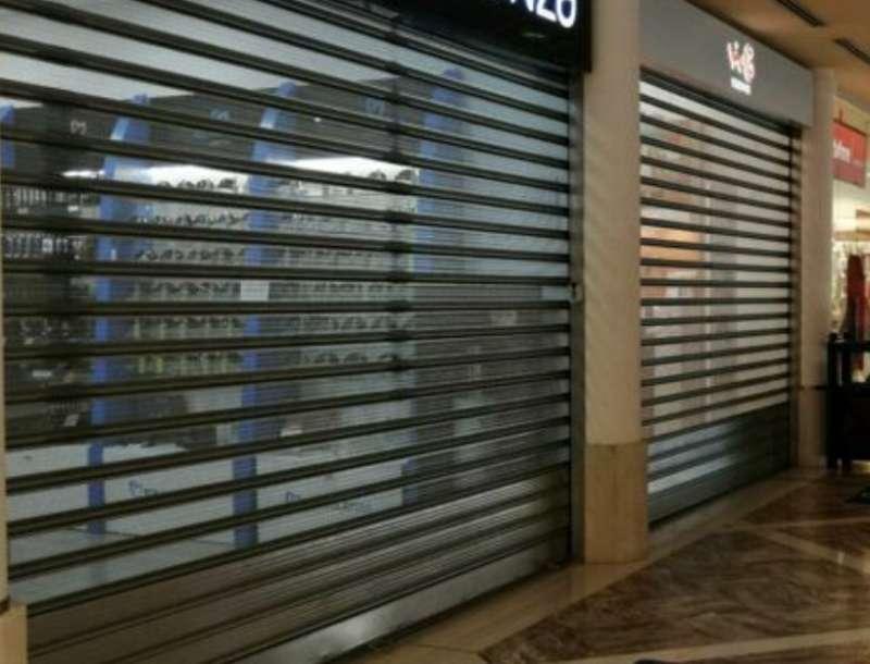 centri commerciali chiusi per protesta