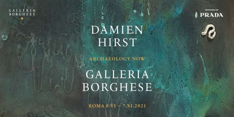 Damien Hirst Archaeology now Locandina