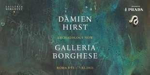 Damien Hirst Archaeology now Locandina