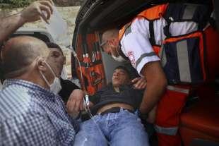 feriti in ambulanza
