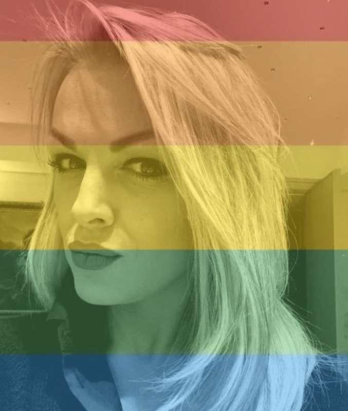 francesca pascale arcobaleno