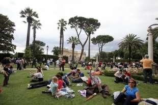 giardini del quirinale il 2 giugno.