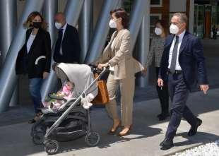 il ministro mara carfagna con la figlia vittoria foto di bacco