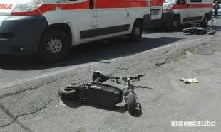 incidente monopattino elettrico