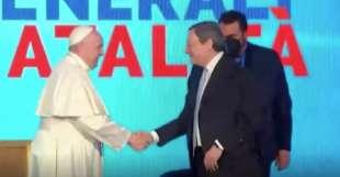 incontro fra draghi e il papa 5