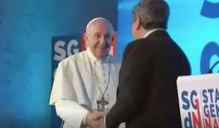 incontro fra draghi e il papa 6