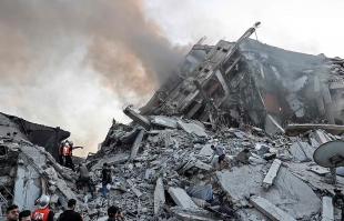 israele attacco striscia di gaza