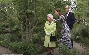Kate con la regina