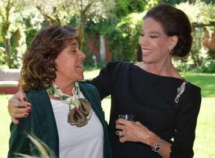 l ambasciatrice della colombia gloria isabel ramirez e marsela federici foto di bacco