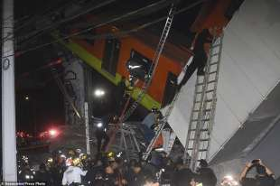L'incidente della metro in Messico