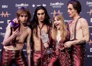 maneskin vincono eurovision