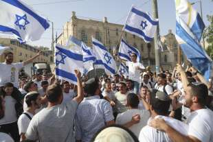 manifestazione di ebrei