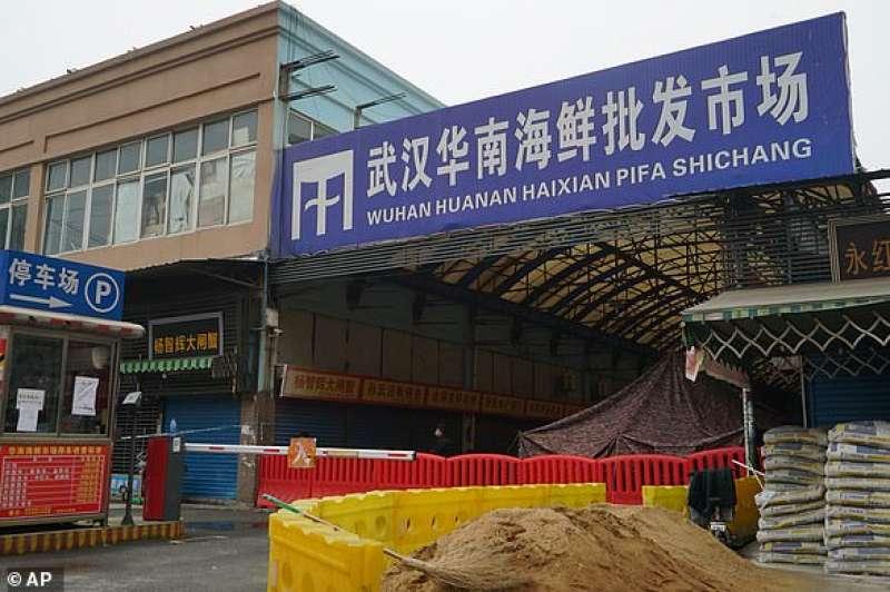 Mercato di Wuhan