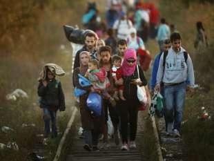 Migranti CHE ATTRAVERSANO I BALCANI
