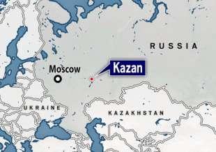 sparatoria in una scuola di kazan, russia 3