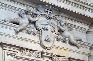 stemma con le api della famiglia barberini foto di bacco