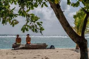 turisti alle maldive