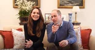 William e Kate nel video di presentazione