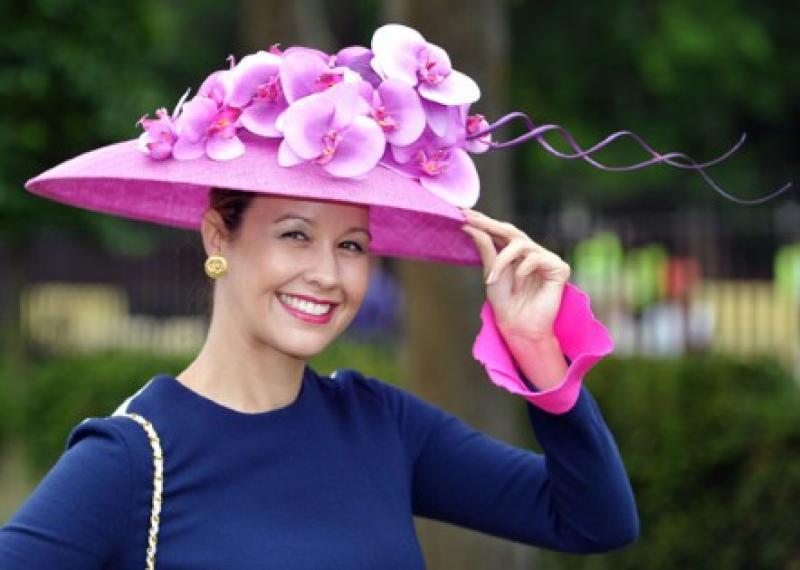 Украшение дамских шляпок