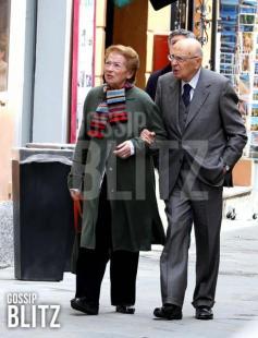 Giorgio e Clio Napolitano a Orbetello