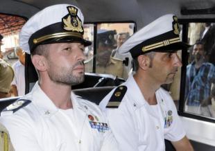 I due marò italiani in India