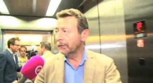 RAFFAELE BALDASSARRE SBROCCA CON UN GIORNALISTA OLANDESE