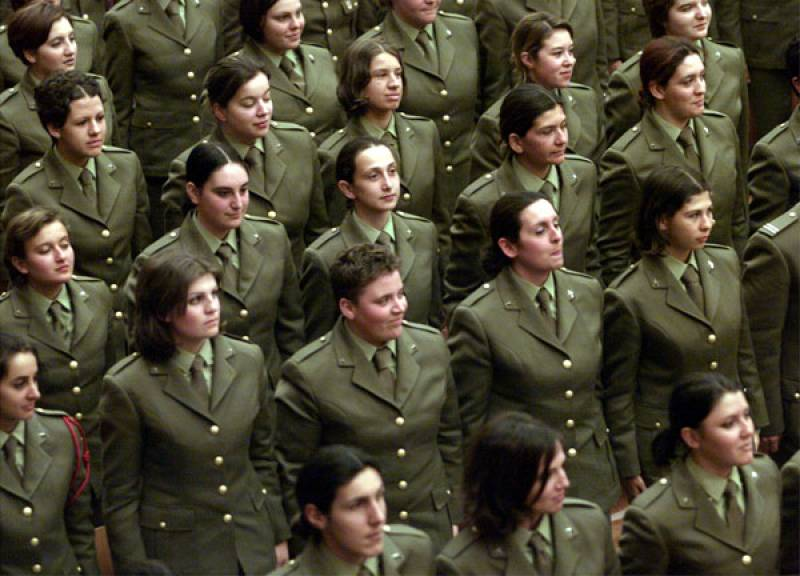 Donne soldato 3 - Dago fotogallery