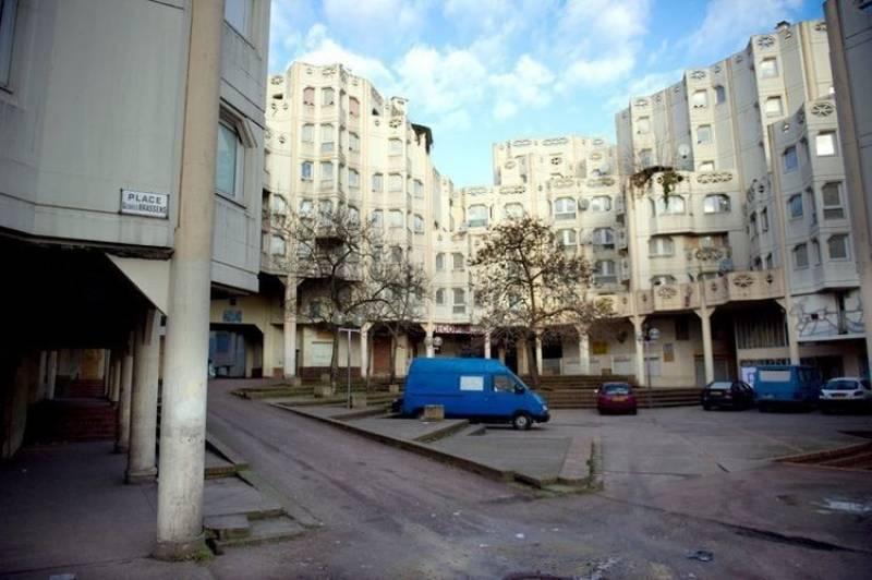 la banlieue parigina di pierrefitte sur seine