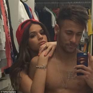 neymar e la fidanzata gabriella lenzi