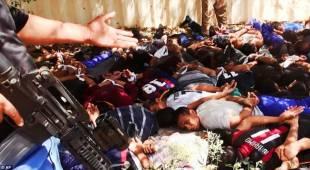 soldati catturati e giustiziati in iraq