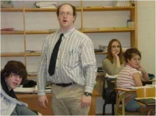 erezione in classe