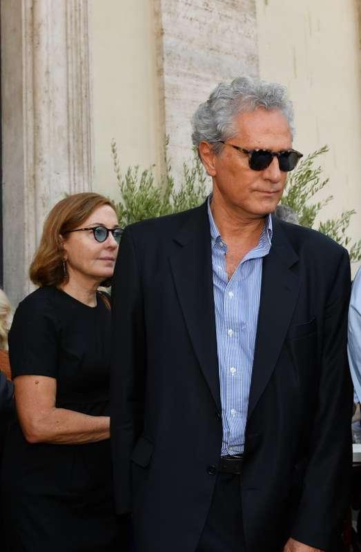 Francesco Rutelli Con La Moglie Barbara Dago Fotogallery