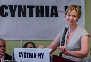 cynthia nixon oggi