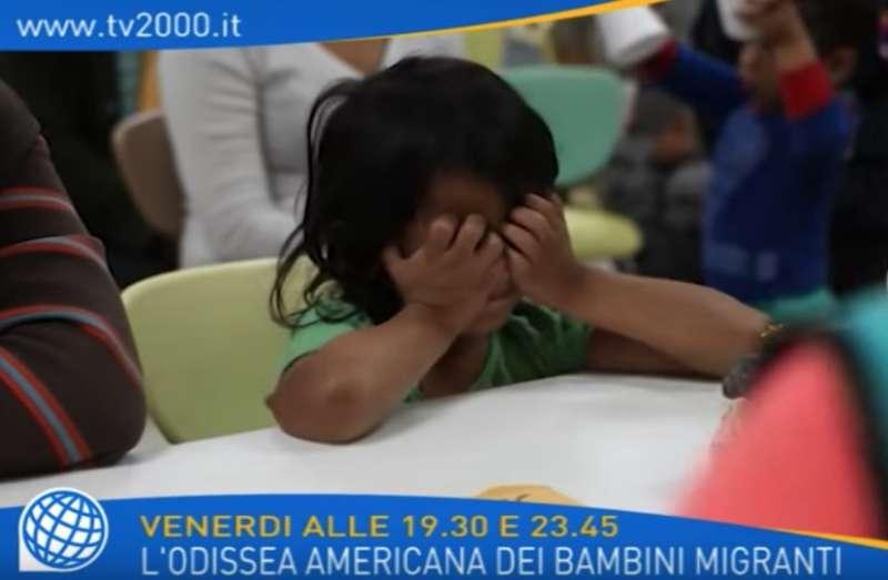 il documentario tv2000 sul centro migranti in texas