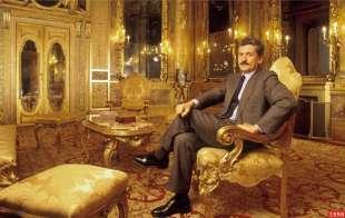 massimo d'alema a palazzo chigi nel 1998 ph guido harari:contrasto